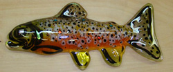 Glass Brown Trout